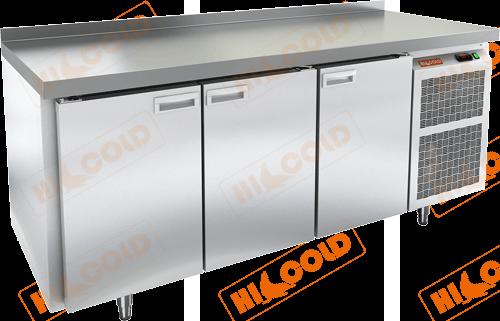 Стол морозильный с полимерным покрытием (RAL 7004)  HICOLD  GN 111/BT W