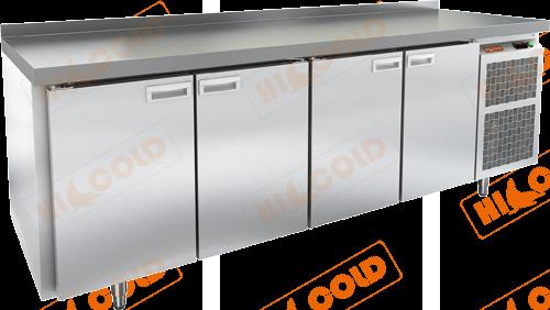 Стол холодильный с полимерным покрытием (RAL 7004)  HICOLD  SN 1111/TN W