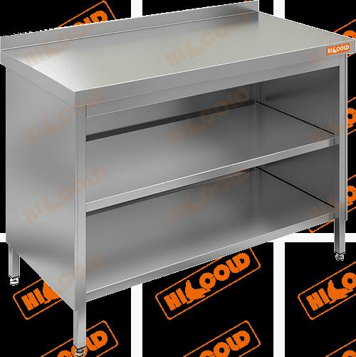 Стол производственный закрытый с 3-х сторон  HICOLD  НСЗО-11/7Б
