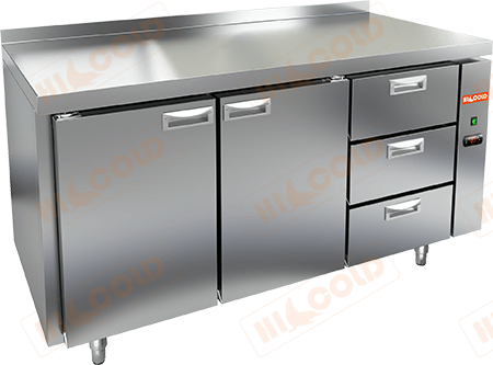 Стол холодильный (без агрегата)  HICOLD  SN 113/TN P