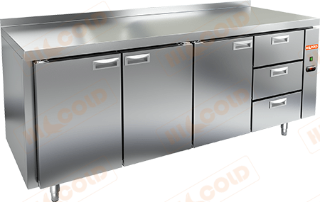 Стол холодильный (без агрегата)  HICOLD  SN 1113/TN P