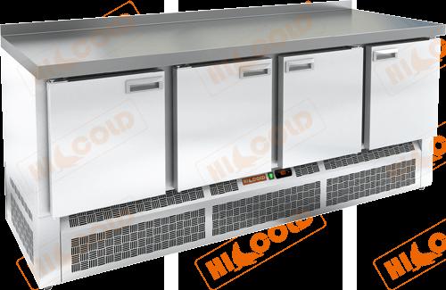 Стол морозильный с полимерным покрытием (RAL 7004)  HICOLD  GNE 1111/BT W