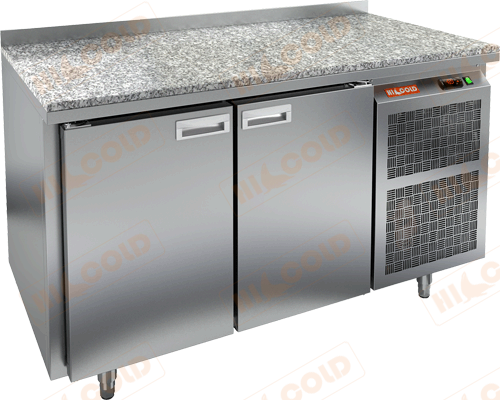 Стол холодильный  HICOLD  SN 11/TN камень
