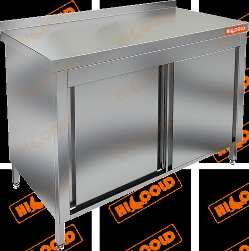Стол производственный пристенный купе  HICOLD  НСЗК-10/7Б