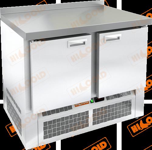 Стол морозильный с полимерным покрытием (RAL 7004)  HICOLD  SNE 11/BT W