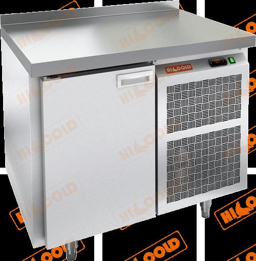 Стол морозильный с полимерным покрытием (RAL 7004)  HICOLD  GN 1/BT W
