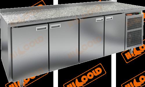 Стол холодильный  HICOLD  SN 1111/TN камень