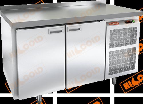 Стол морозильный с полимерным покрытием (RAL 7004)  HICOLD  GN 11/BT W