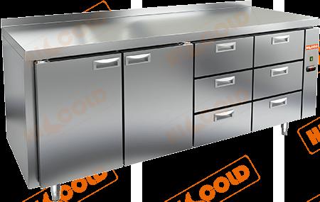 Стол холодильный (без агрегата)  HICOLD  SN 1133/TN P