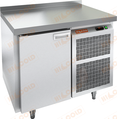 Стол морозильный с полимерным покрытием (RAL 7004)  HICOLD  SN 1/BT W