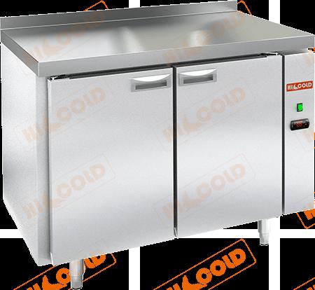 Стол холодильный с полимерным покрытием (без агрегата)  HICOLD  SN 11/TN W P