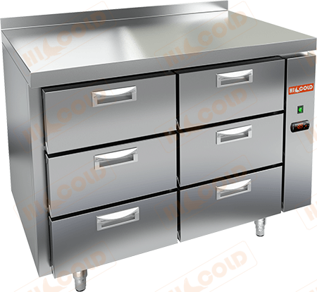 Стол холодильный (без агрегата)  HICOLD  SN 33/TN P