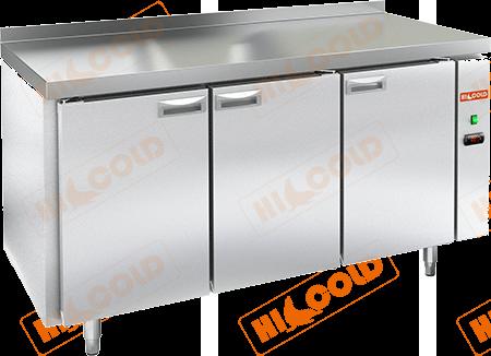 Стол холодильный с полимерным покрытием (без агрегата)  HICOLD  GN 111/TN W P