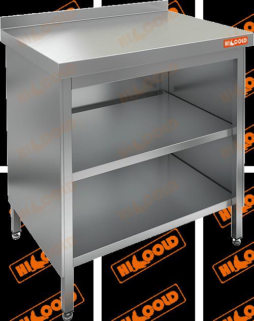 Стол производственный закрытый с 3-х сторон  HICOLD  НСЗО-6/7Б