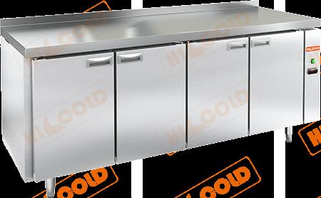 Стол холодильный с полимерным покрытием (без агрегата)  HICOLD  GN 1111/TN W P
