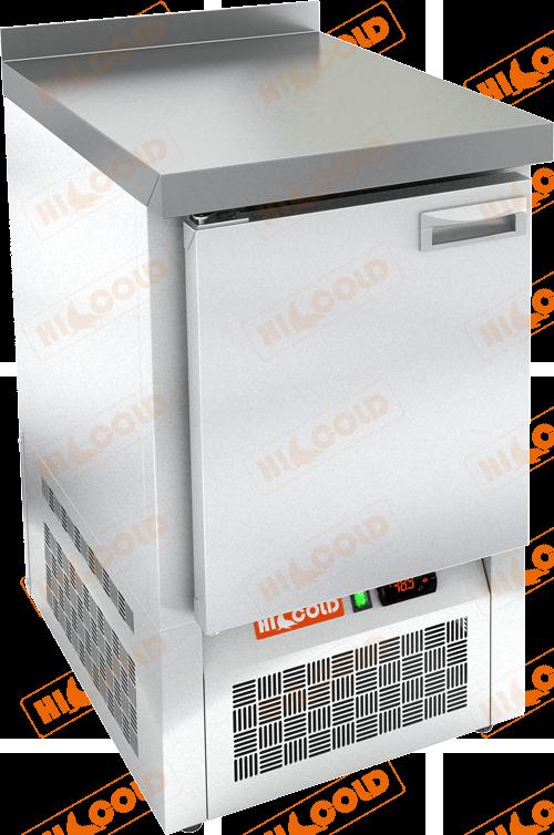 Стол морозильный с полимерным покрытием (RAL 7004)  HICOLD  SNE 1/BT W